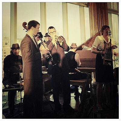 Piano Photograph - The Hot Sardines by Natasha Marco