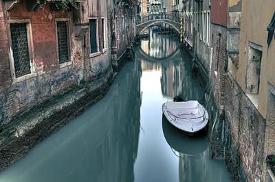 Boat House Photograph - Venezia by Joana Kruse
