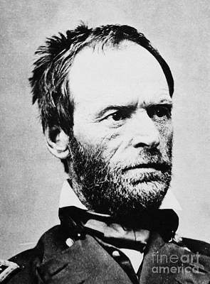 Photograph - William Tecumseh Sherman by Granger