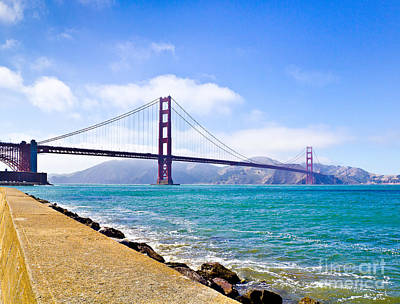 Photograph - 75 Years - Golden Gate - San Francisco by John Waclo