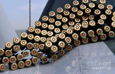 7.62 Mm Rounds Ready To Be Loaded Art Print