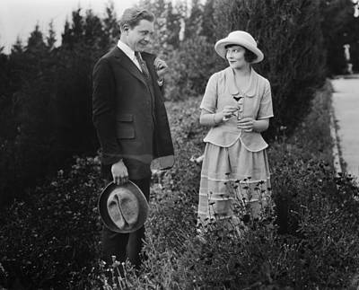 Silent Film Still: Couples Art Print by Granger