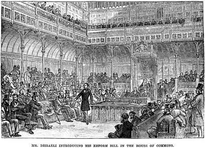 Benjamin Disraeli (1804-1881) Art Print by Granger
