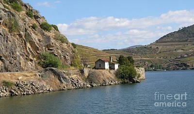 Douro River Valley Art Print by Arlene Carmel