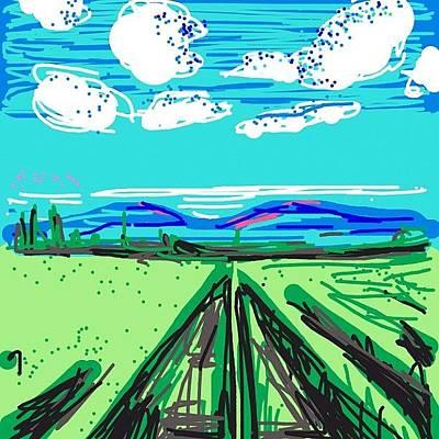 Vineyard Wall Art - Photograph - #drawsomething #drawsomethingepic by Kidface Anbessa-Ebanks