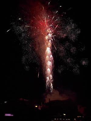 Photograph - Fireworks by Jouko Lehto