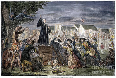 George Whitefield Art Print by Granger