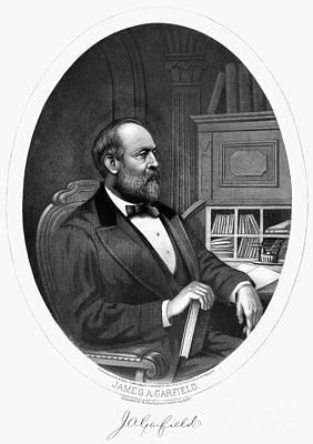 James A. Garfield (1831-1881) Art Print by Granger