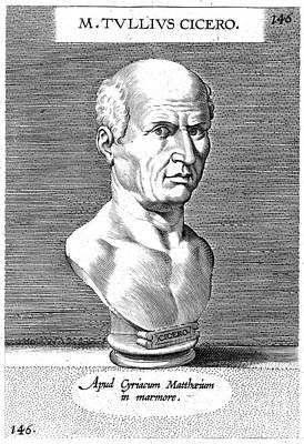 Marcus Tullius Cicero Print by Granger