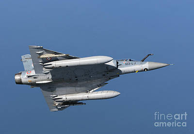 Comic Character Paintings - Mirage 2000c Of The French Air Force by Gert Kromhout