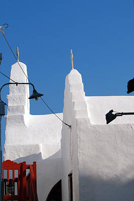 Photograph - Mykonos Island by Harvey Barrison