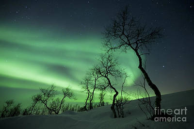 Claude Monet - Northern Lights In The Arctic by Arild Heitmann