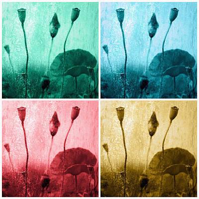Poppy Art Image Art Print by Falko Follert