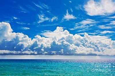 Peaceful Scene Photograph - Sea by MotHaiBaPhoto Prints