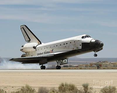 Travel - Space Shuttle Atlantis by Stocktrek Images