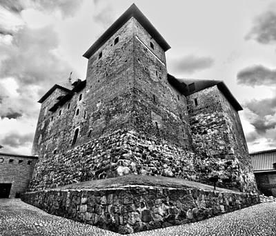 Jouko Lehto Royalty-Free and Rights-Managed Images - The Castle of Tavastehus by Jouko Lehto