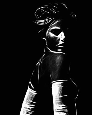 Body Scape Digital Art - The Look by Steve K