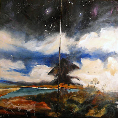 Painting - Bubi Mountain by Amy Williams