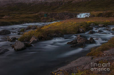 Photograph - Waterfall by Jorgen Norgaard
