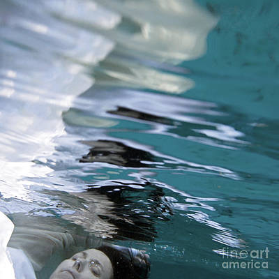 Avante-garde Painting - You Are The Ocean And I Am Drowning by Glennis Siverson