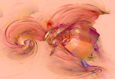 Generative Digital Art - 813 by Lar Matre