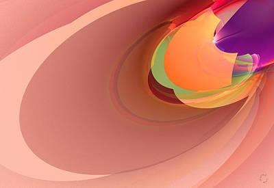 Generative Digital Art - 841 by Lar Matre