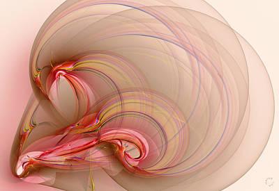 Generative Digital Art - 858 by Lar Matre