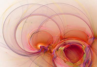 Generative Digital Art - 863 by Lar Matre