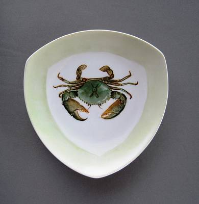 866 4 Part Of The Crab Set 1 Art Print by Wilma Manhardt