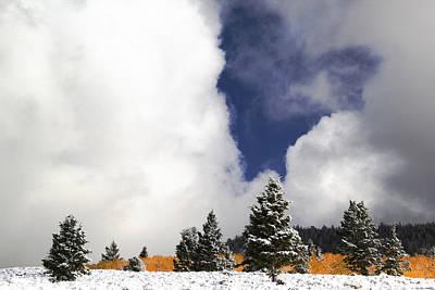 Rocky Mountain Fall Art Print by Mark Smith