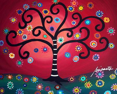 Tree Of Life Original by Pristine Cartera Turkus
