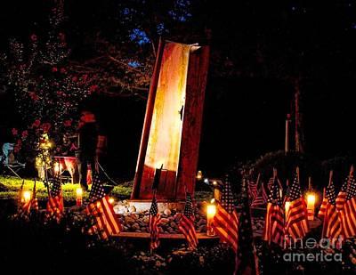 Photograph - 9/11 Remembrance Mantua Nj by Nick Zelinsky