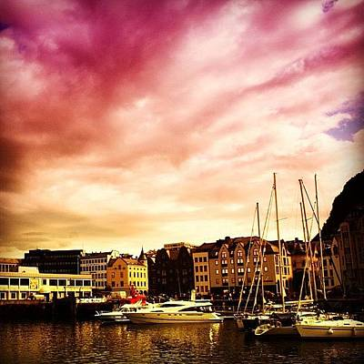 Landscapes Photograph - Alesund - Norway by Luisa Azzolini