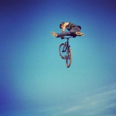Extreme Sports Photograph - Bmx O Marisquiño #bmx #marisquiño by Hugo Sa Ferreira