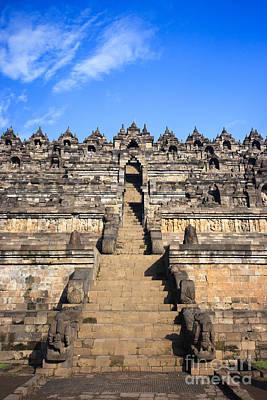 Borobudur Print by MotHaiBaPhoto Prints