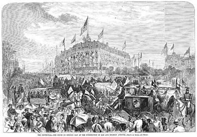 Centennial Fair, 1876 Art Print
