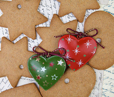 Stars Photograph - Christmas Gingerbread by Nailia Schwarz