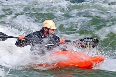 Current Control Photograph - Kayak by Elijah Weber