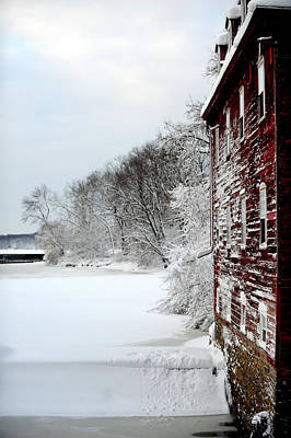 Photograph - Kingston Mill by Frank DiGiovanni