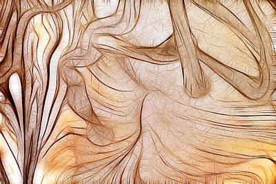 Thomas Kinkade Royalty Free Images - Magic background Royalty-Free Image by Odon Czintos