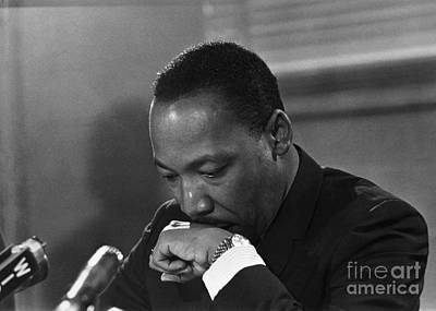 Martin Luther King, Jr Art Print