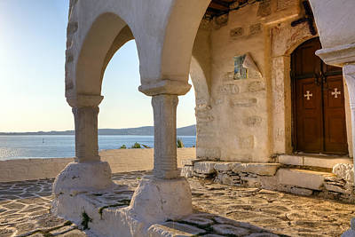 Agios Photograph - Paros - Cyclades - Greece by Joana Kruse