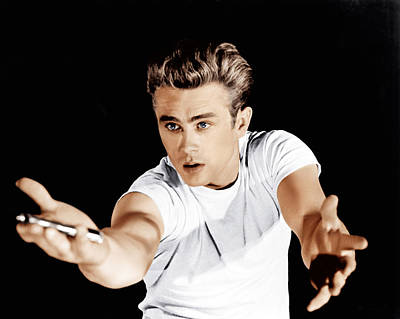 Incol Photograph - Rebel Without A Cause, James Dean, 1955 by Everett