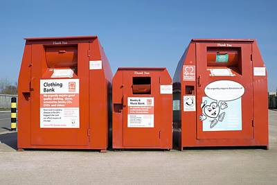 Recyclable Photograph - Recycling Centre by Mark Williamson