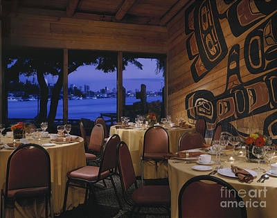Restaurant Art Print by Robert Pisano