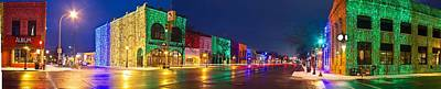 Rochester Photograph - Rochester Christmas Light Display by Twenty Two North Photography
