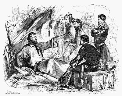 Photograph - Sam Houston (1793-1863) by Granger
