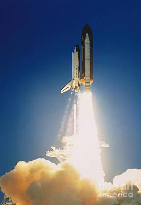 Shuttle Lift-off Art Print