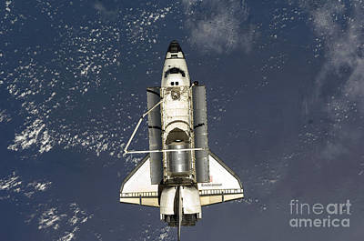 Juan Bosco Forest Animals Royalty Free Images - Space Shuttle Endeavour Royalty-Free Image by Stocktrek Images