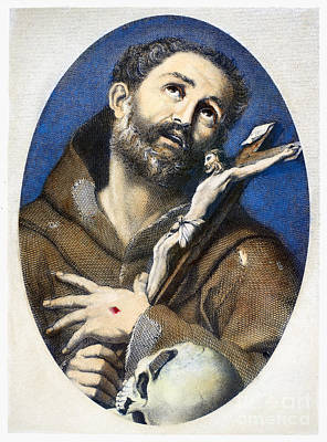 St. Francis Of Assisi Art Print by Granger